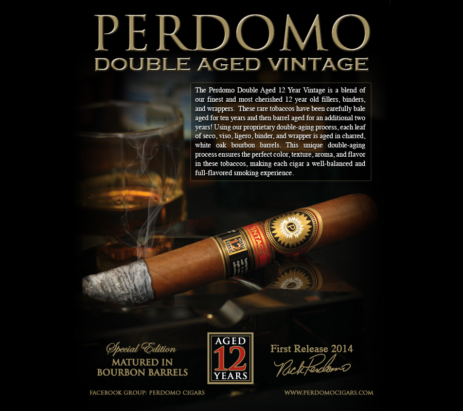PERDOMO DOUBLE AGED VINTAGE PREVIEW